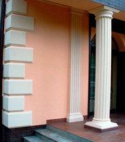 Архітектурний декор з пінопласту та гіпсу