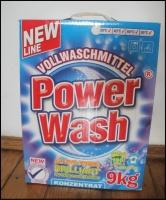 Пральний порошок Power Wash,  9 кг