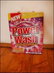 Пральний порошок Power Wash Professional,  3kg.