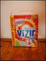 Польський порошок Vizir: Колір і Білий,  4, 8kg