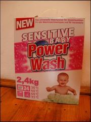 Дитячий порошок Power Wash Sensitive Baby,  2, 4 кг