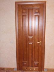 Дерев'яні двері з масиву