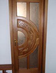 Міжкімнатні двері з масиву сосни