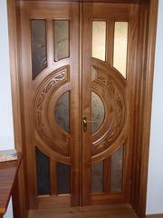 Міжкімнатні двері з масиву