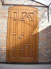 Двері з масиву сосни та дуба