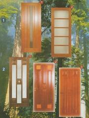 Двері з натурального дерева Львів