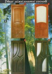 Двері з масиву дуба