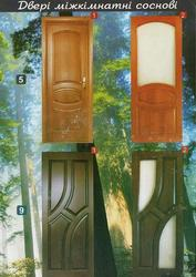 Дерев'яні міжкімнатні двері у Львові