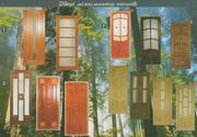 Двері з натурального масиву дуба,  сосни та вільхи