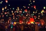 Повітряні ліхтарики,  Небесні ліхтарики,  китайські ліхтарики Львів