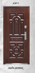 Вхідні металеві китайські двері ціна