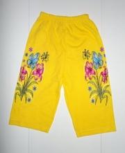 Детские шорты ,  лосины,  комбезы оптом