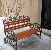 Ковані лавки,  ковані садові меблі