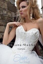 Дизайнерське весільне плаття від Оксани Мухи