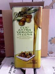 Оливковое масло Extra Vergine 5 л. (первый отжим) Италия