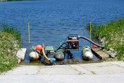 Викопаєм ставок,  видалення мулу,  водоростей,  укріплення берега