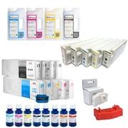 Картриджи для плоттеров (широкоформатных принтеров) Epson,  Canon,  HP