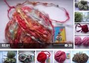 Нитки пряжа для вязания,  вышивания СТОК дешево