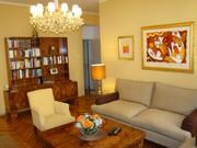 Приятная теплая квартира в стиле арт-деко