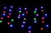 Гирлянда светодиодная бахрома — led звездочки-60