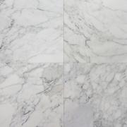 Белая  облицовочная плитка из мрамора Thassos (Тассос)