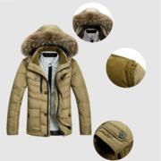Мужская куртка-пуховик отличного качества