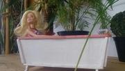 МЕБЕЛЬ ДЛЯ КУКОЛ. Ванная для кукол (HandMade) Мебель для барби
