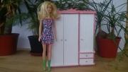 Кукольная мебель. Шкаф для кукол (Hand Made) Мебель для барби