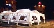 раздвижные шатры,  сборно соборные шатры