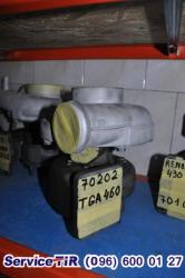 Ремонт турбин к авто MAN
