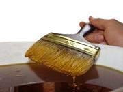 Наносити льняне масло Frost(фрост) можна поролоновими спонжікамі або к