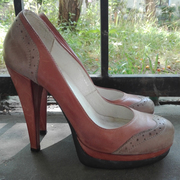 Туфли женские,  кожанные