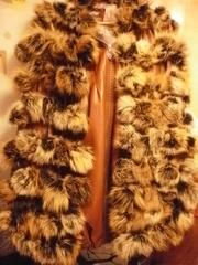 Срочно продам.Шарф-шаль из натурального меха.