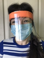 Захисна маска- щиток для очей і обличчя