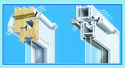 Устанавливаем приточную оконную вентиляцию